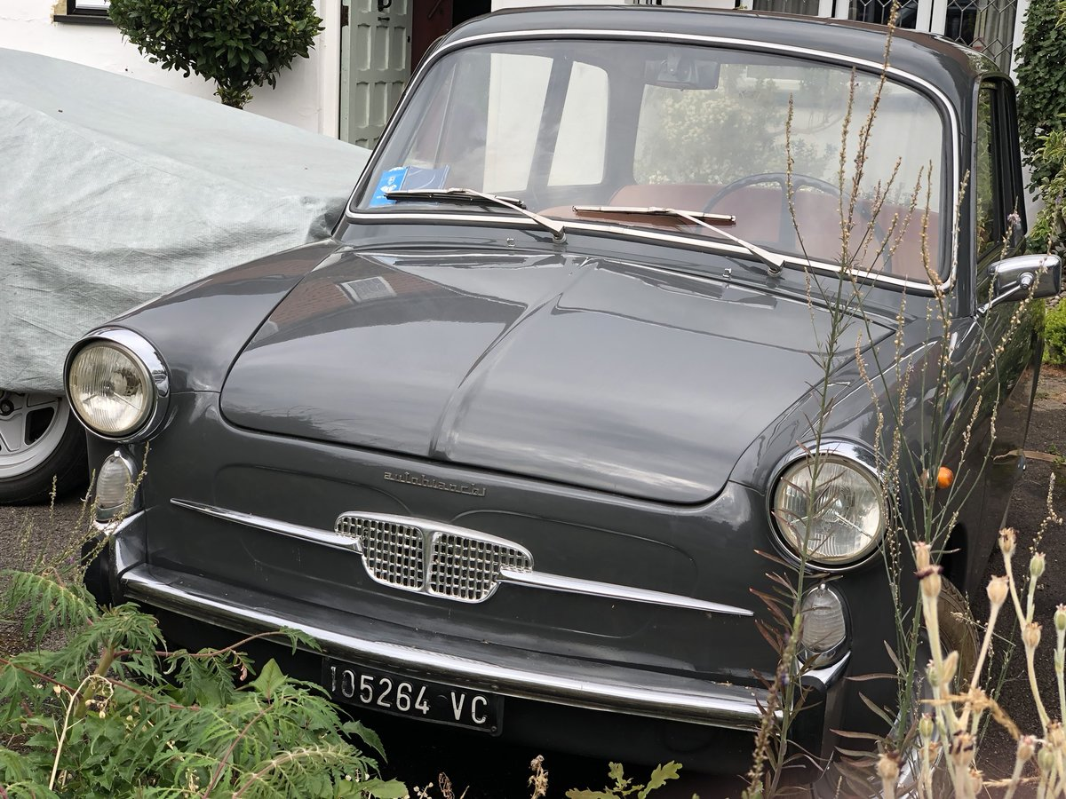 1965  rare round dial model Autobianchi Bianchina For Sale (picture 3 of 6)