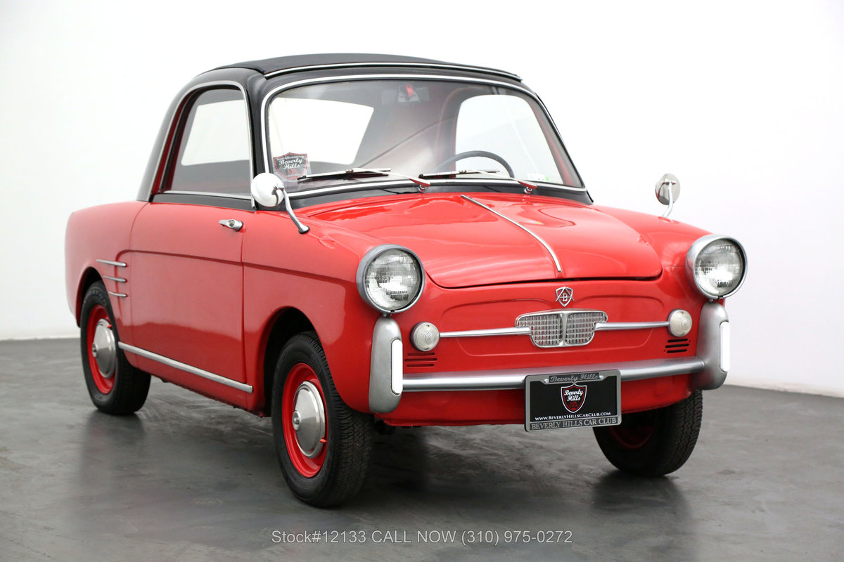 1960 Autobianchi Bianchina Trasformabile For Sale (picture 1 of 6)