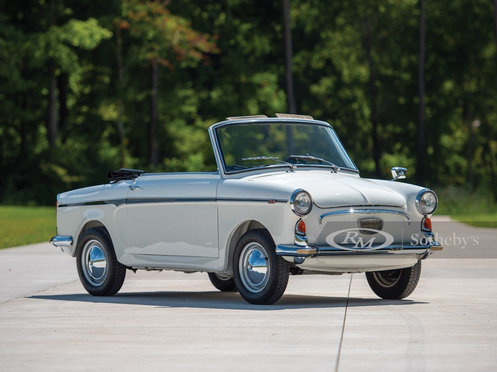 1961 Autobianchi Bianchina Special Cabriolet  For Sale by Auction (picture 1 of 6)
