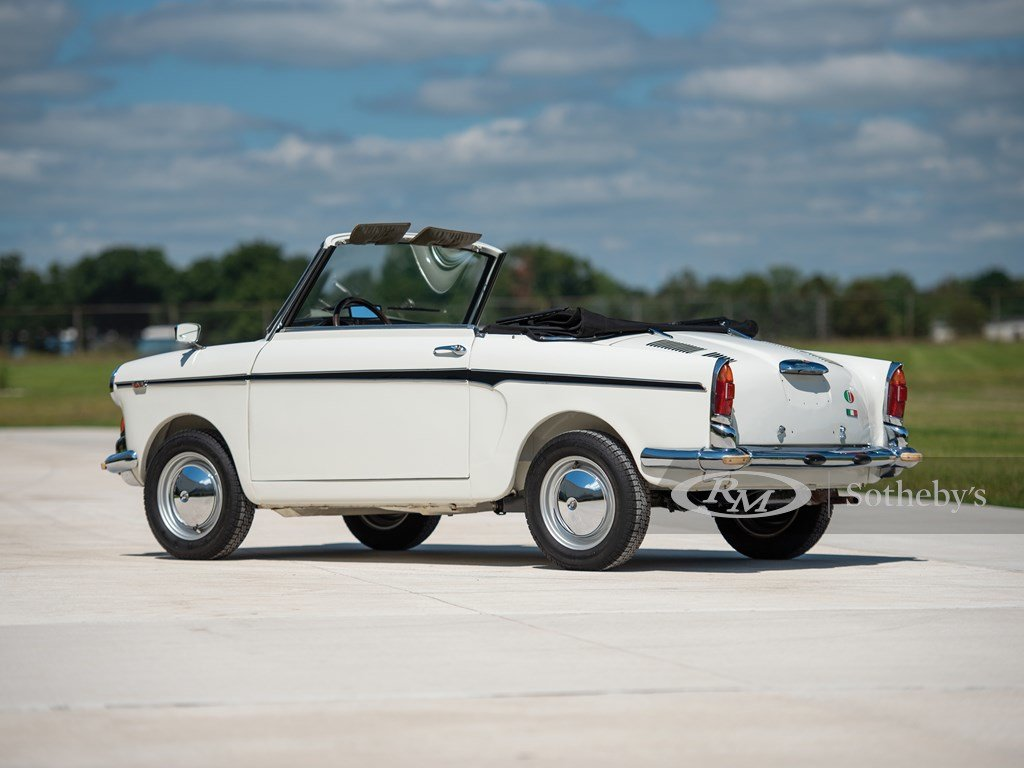 1961 Autobianchi Bianchina Special Cabriolet  For Sale by Auction (picture 2 of 6)