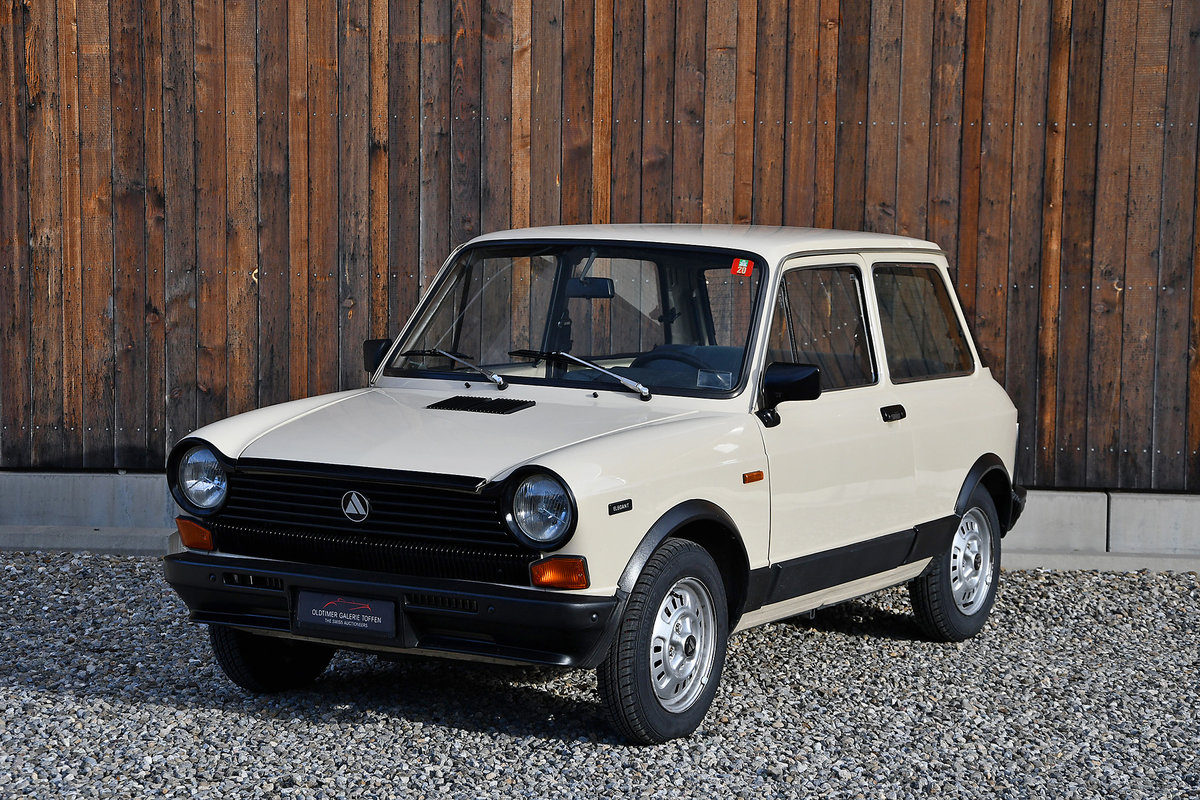1980 Autobianchi A112 Elegant For Sale (picture 2 of 10)