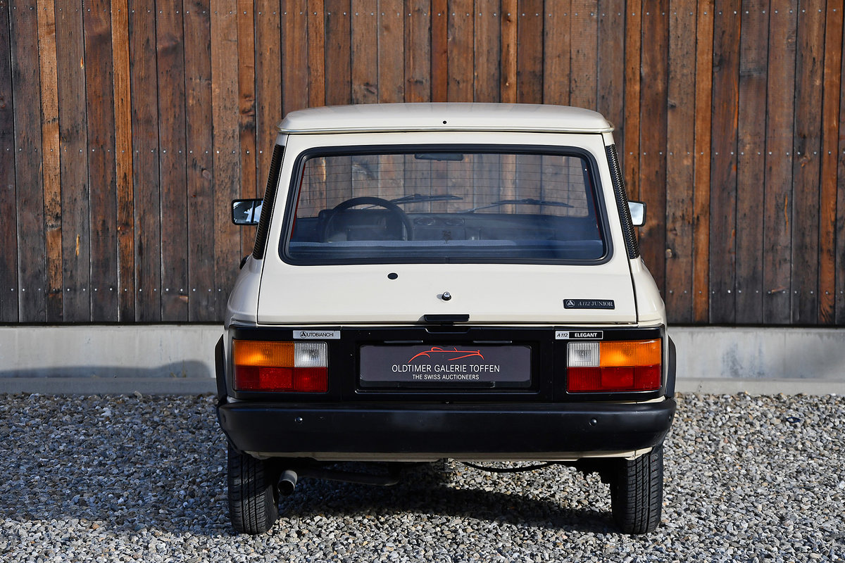 1980 Autobianchi A112 Elegant For Sale (picture 10 of 10)
