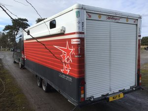 Bateman enclosed trailer