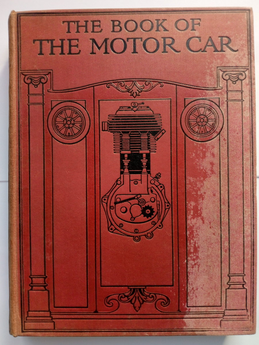 Early 1920's The Book of the Motor Car For Sale (picture 1 of 6)