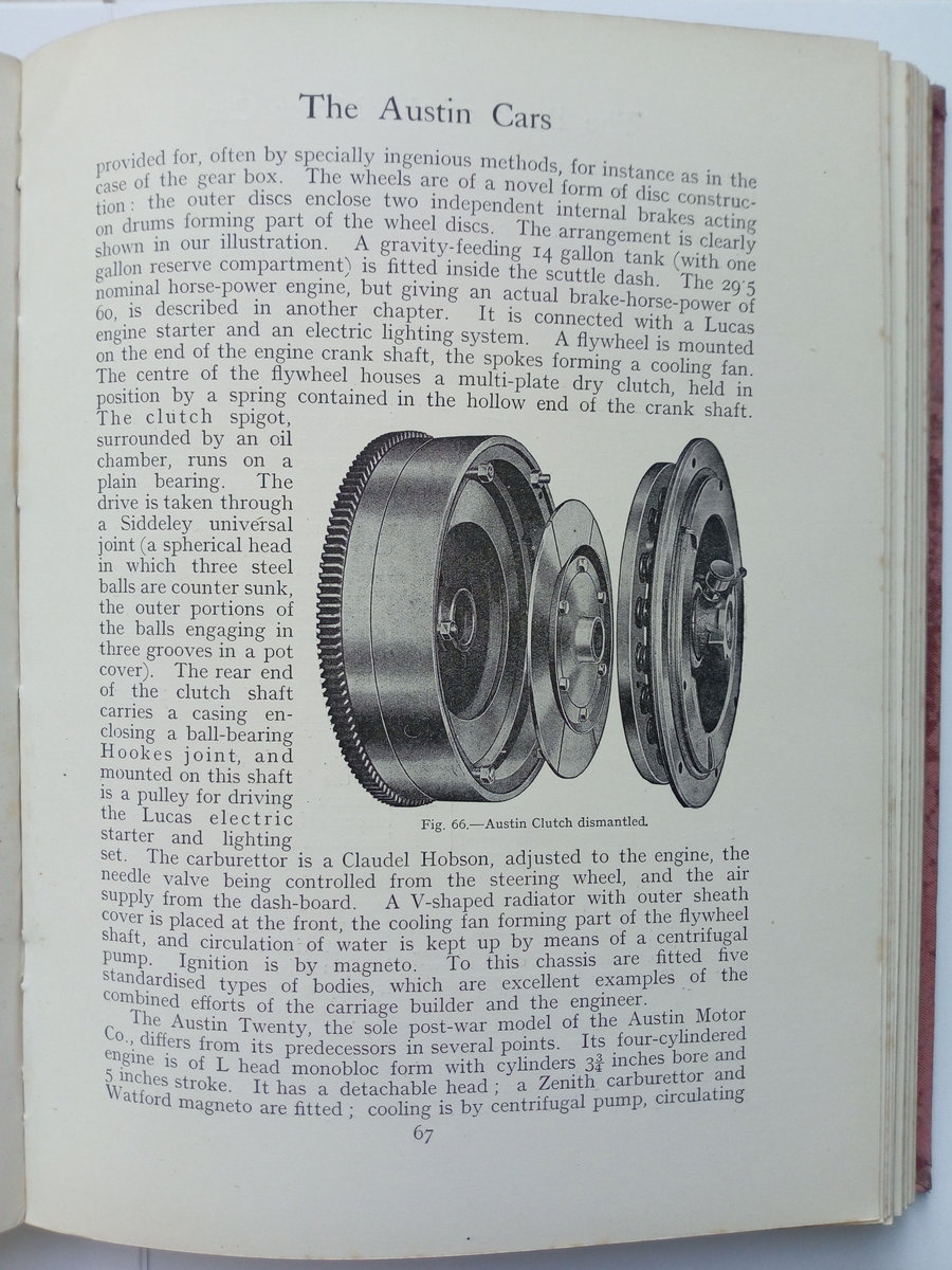 Early 1920's The Book of the Motor Car For Sale (picture 4 of 6)