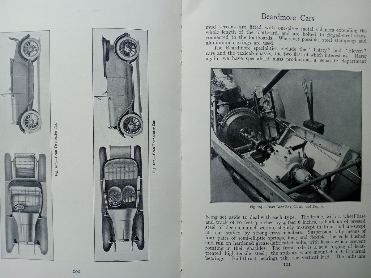 Early 1920's The Book of the Motor Car For Sale (picture 6 of 6)