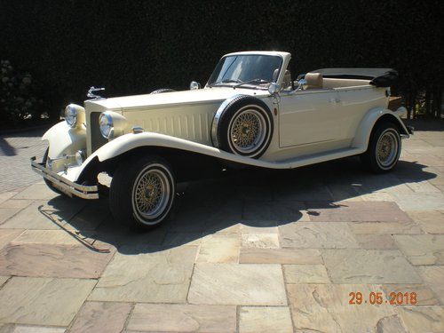 1976 Beauford 1930's style wedding car SOLD (picture 1 of 6)