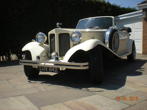 1976 Beauford 1930's style wedding car For Sale (picture 2 of 6)