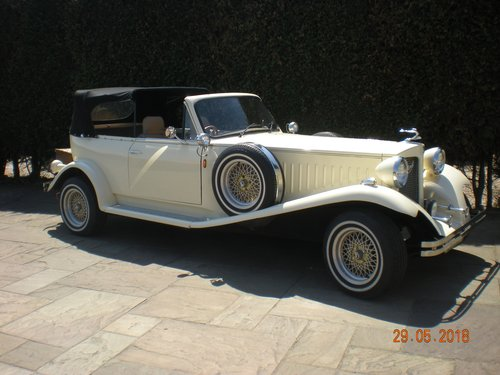 1976 Beauford 1930's style wedding car For Sale (picture 5 of 6)
