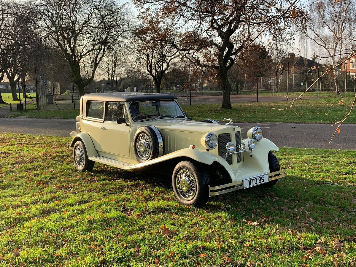 1978 Beauford Cream Hard Top & Soft Top For Sale (picture 2 of 6)