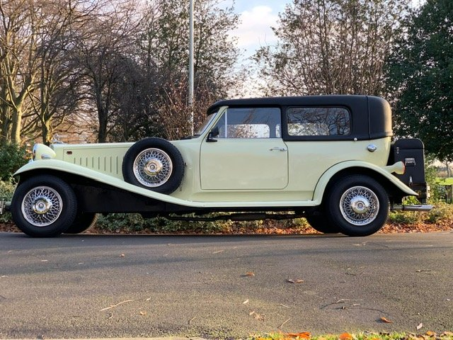 1978 Beauford Cream Hard Top & Soft Top For Sale (picture 3 of 6)