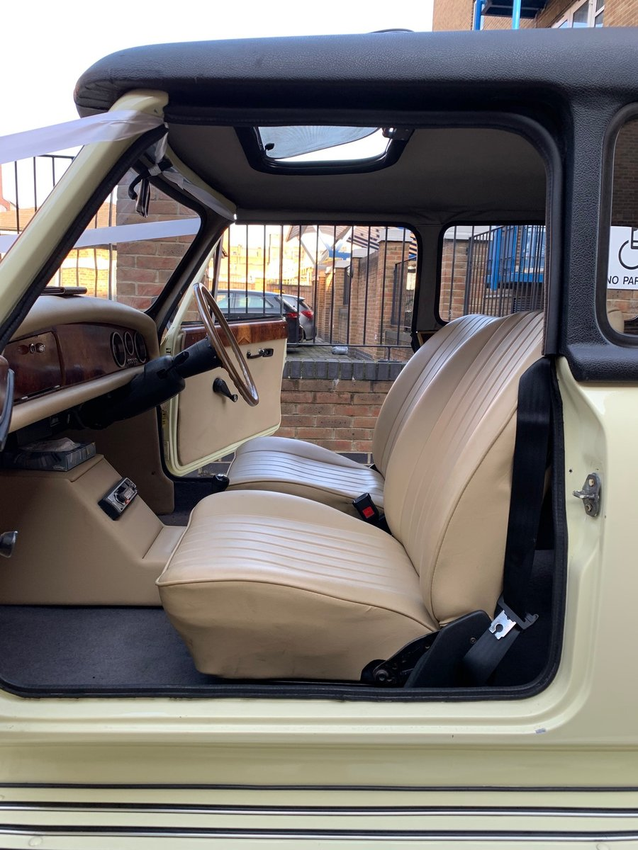 1978 Beauford Cream Hard Top & Soft Top For Sale (picture 4 of 6)