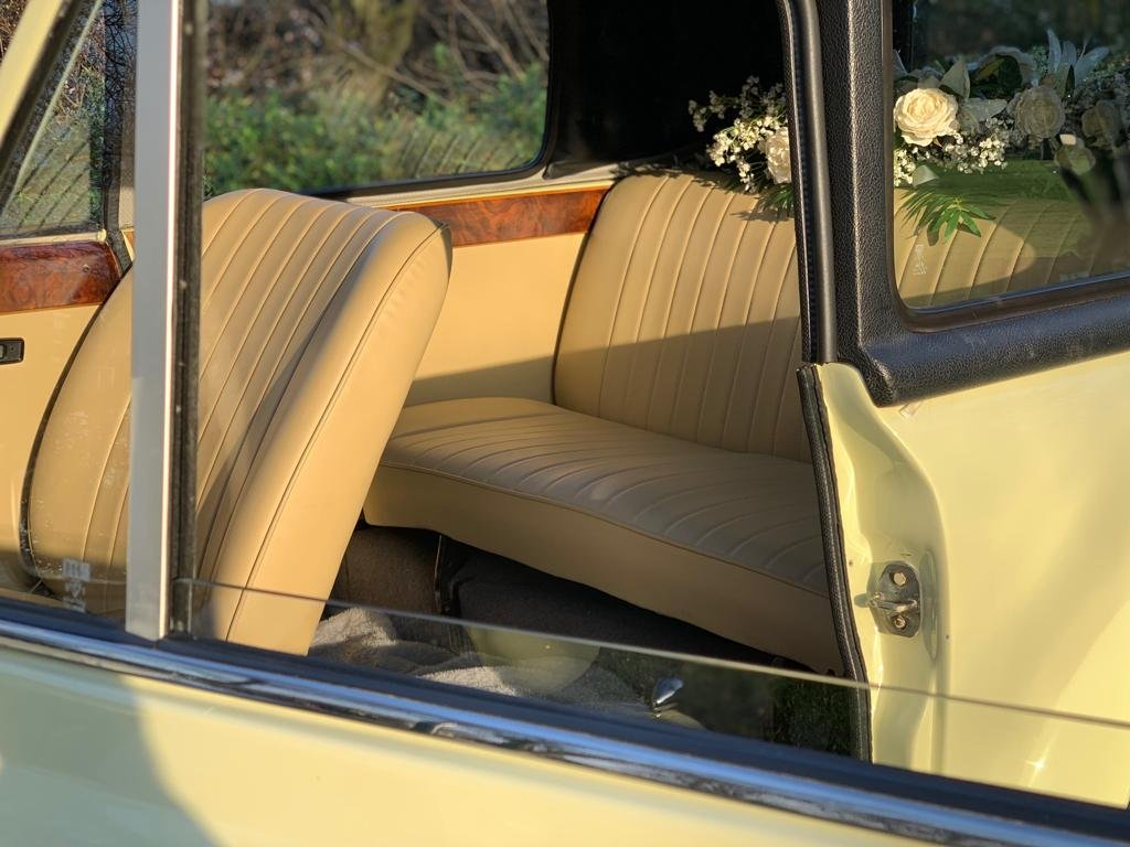 1978 Beauford Cream Hard Top & Soft Top For Sale (picture 5 of 6)