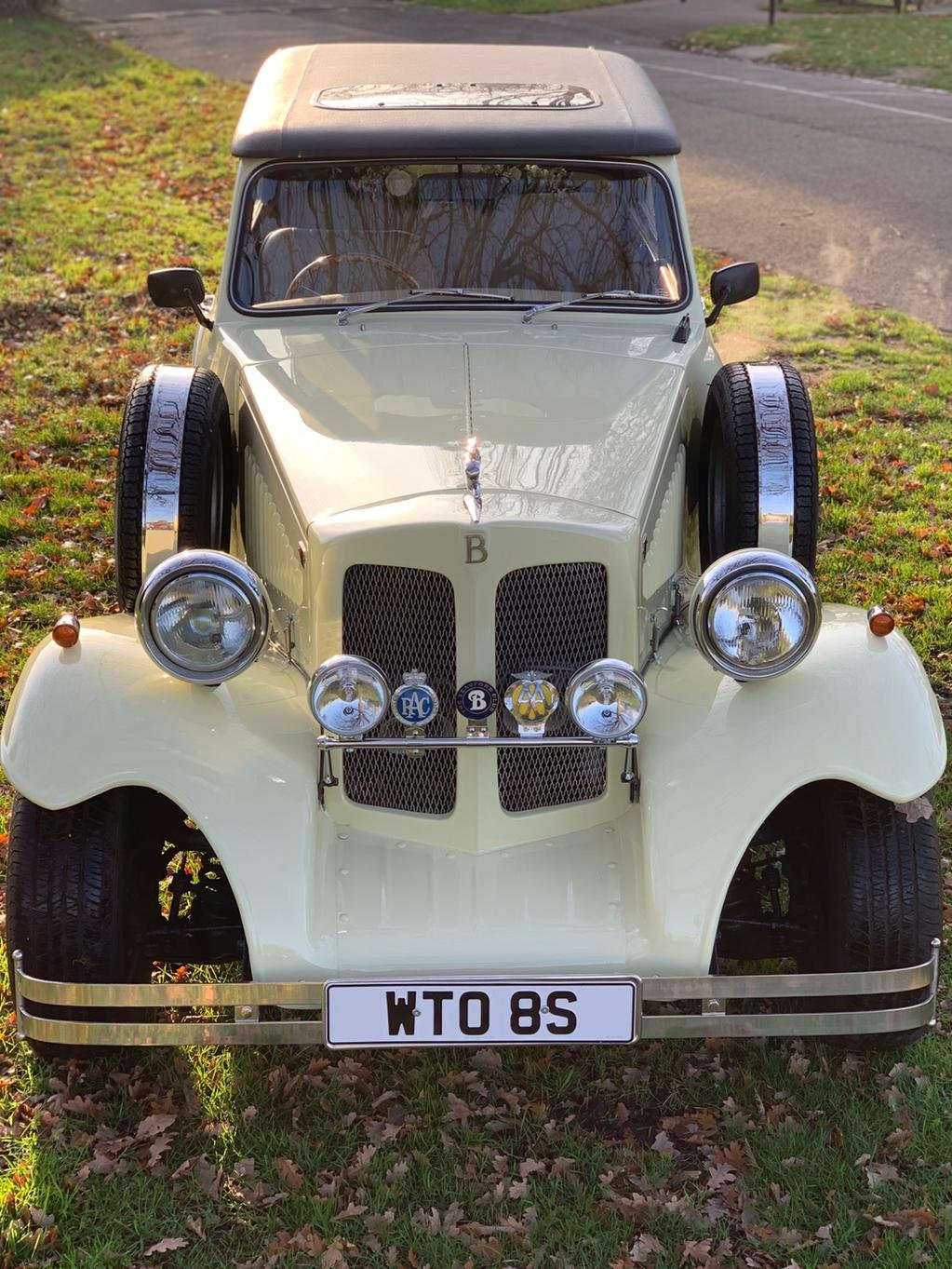 1978 Beauford Cream Hard Top & Soft Top For Sale (picture 6 of 6)
