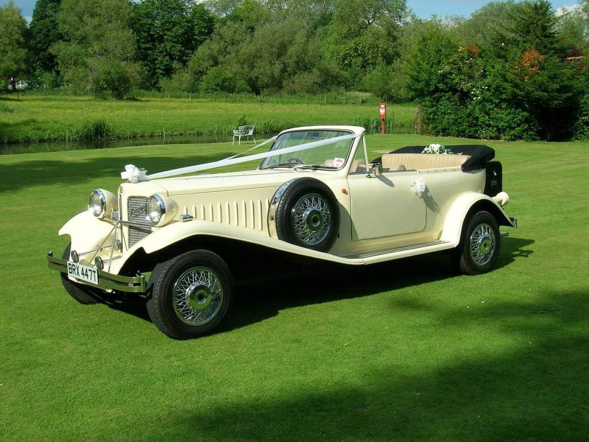 BEAUFORD WEDDING CAR 1999 For Sale (picture 1 of 5)
