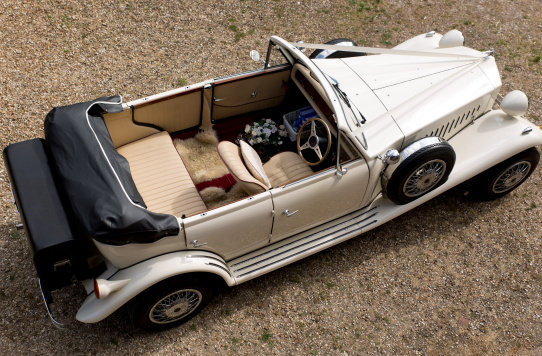 1980 4 Door Ivory Beauford Convertible Wedding Car SOLD (picture 2 of 6)