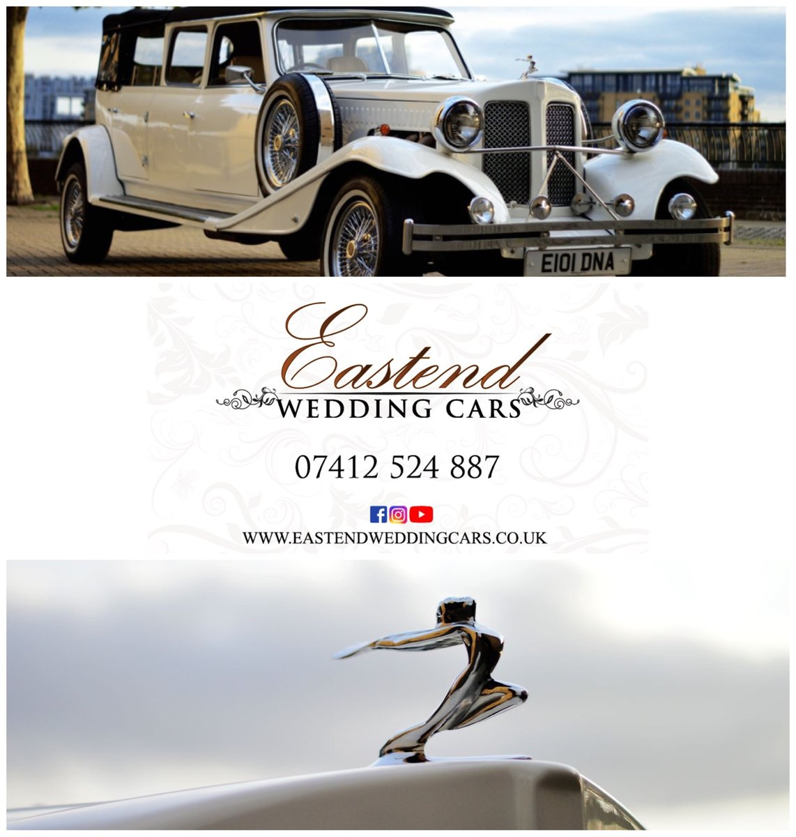 2018 Vintage wedding Car hire For Hire (picture 1 of 6)