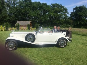 1979 Beauford Tourer Wedding car