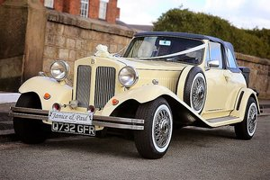 1985 Beauford Tourer Cream  For Sale