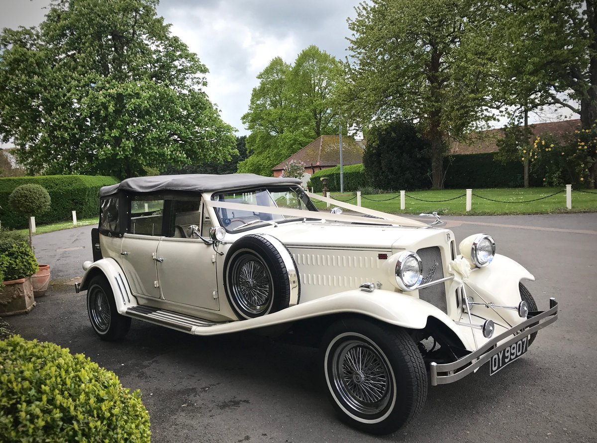 1930's Vintage Style Beauford For Hire London For Hire (picture 3 of 6)