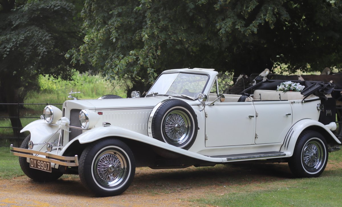 1930's Vintage Style Beauford For Hire London For Hire (picture 5 of 6)