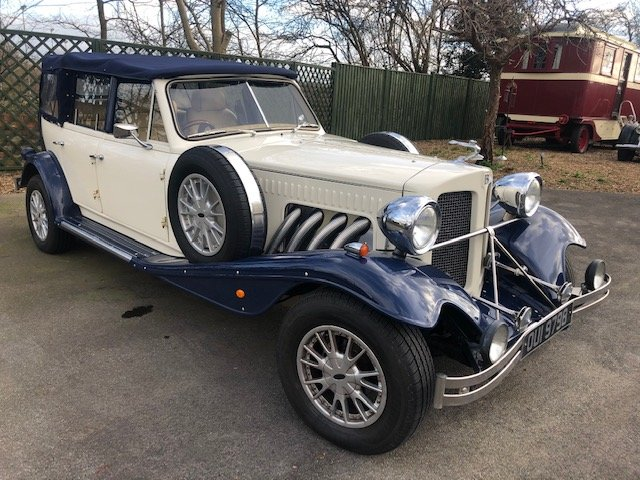 2008 Beauford Tourer 3.5 V8 Rover Auto 26000 miles SOLD (picture 1 of 6)