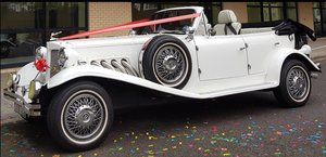 Beauford Convertibl 4 door White