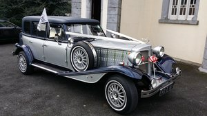 1998 Beauford LWB hardtop wedding car