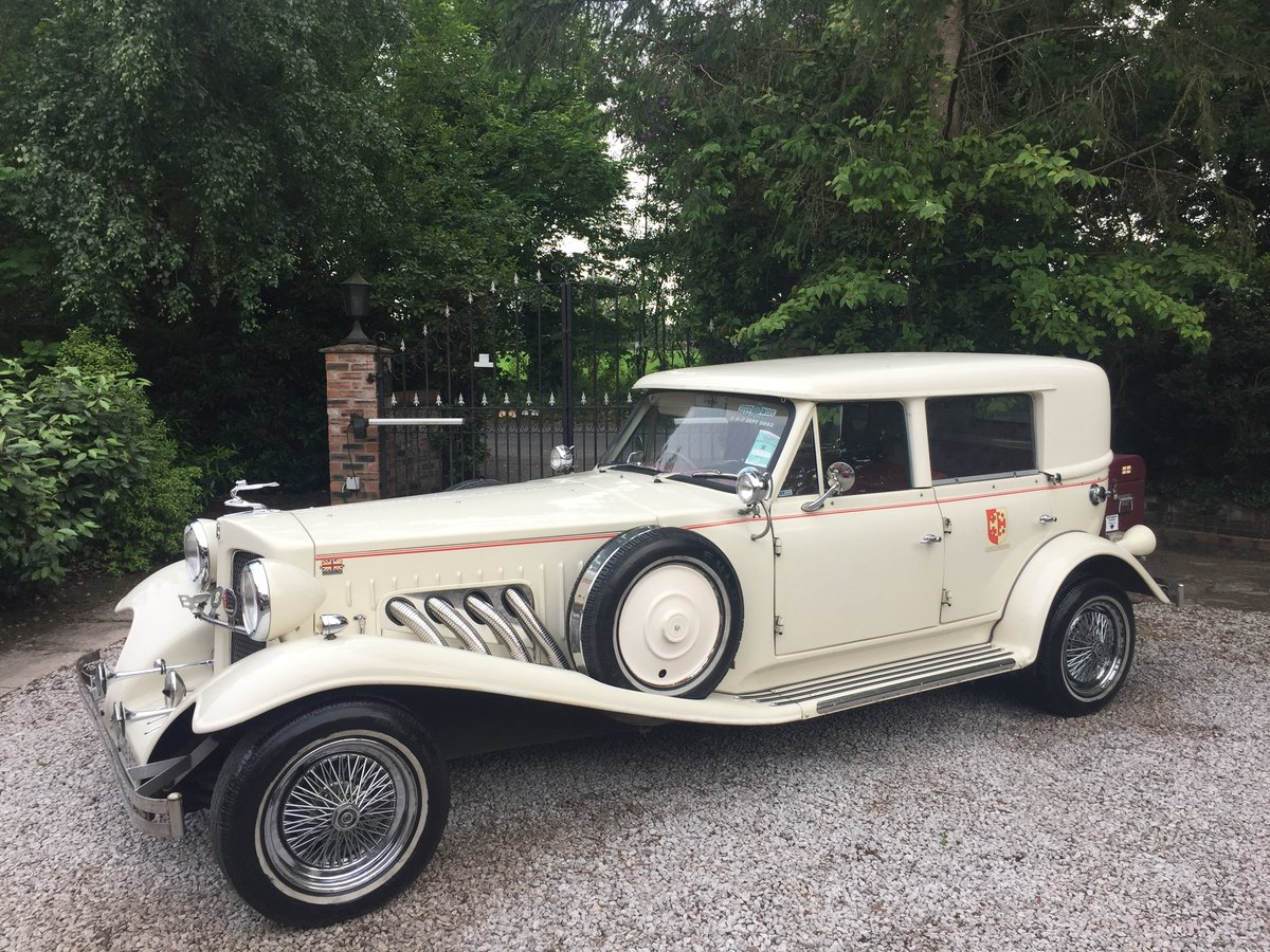 1999 A beautiful Beauford, 4 seats, hard top & tonneau For Sale (picture 1 of 6)