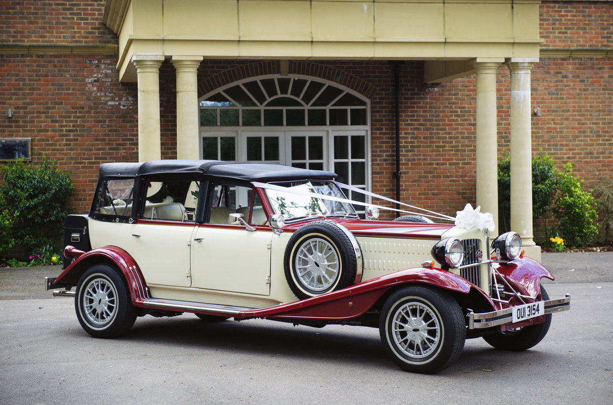 2000 A classic and well maintained Beauford wedding car For Sale (picture 1 of 6)