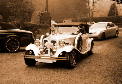 White 1930s Beaufords for hire in London For Hire (picture 2 of 6)