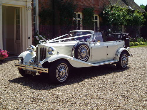 1930 Beauford Wedding Car Hire For Hire (picture 4 of 6)