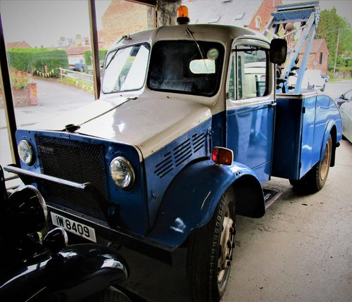 **FEB AUCTION**1946 Bedford OWSC Breakdown Lorry SOLD by Auction (picture 1 of 1)