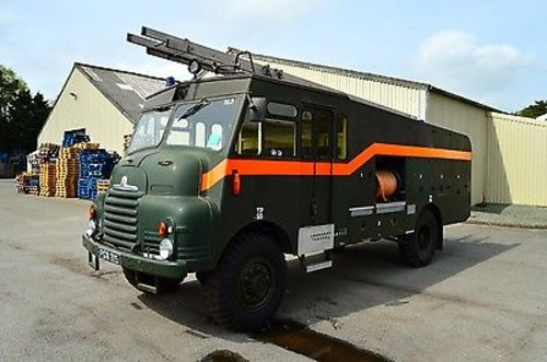 1956 Low Mileage Bedford RLHZ Green Goddess Pump Unit. SOLD (picture 1 of 6)