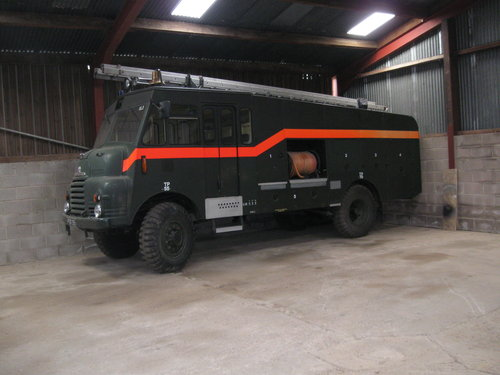 1956 Low Mileage Bedford RLHZ Green Goddess Pump Unit. SOLD (picture 2 of 6)
