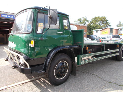 1978 Bedford Flat Lorry SOLD (picture 1 of 6)