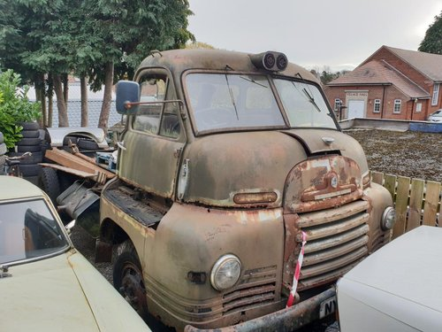 1af032e6175abe   MARCH AUCTION   1956 Bedford S Type  SPARES OR REPAI For Sale by Auction