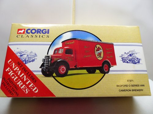 CORGI BEDFORD O SERIES VAN-CAMERON BREWERY For Sale (picture 1 of 6)