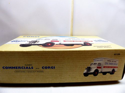CORGI BEDFORD O VAN-NATIONAL COAL BOARD For Sale (picture 6 of 6)
