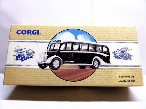 CORGI BEDFORD OB COACH, WARBURTONS OF BURY For Sale (picture 1 of 6)