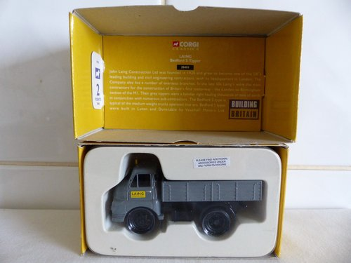"""BEDFORD """"S"""" TIPPER-LAING BUILDING BRITAIN-1:50 For Sale (picture 5 of 6)"""