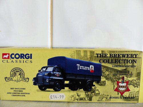 """BEDFORD """"S"""" CANVAS BACK-JOSHUA TETLEY BREWERY For Sale (picture 1 of 6)"""