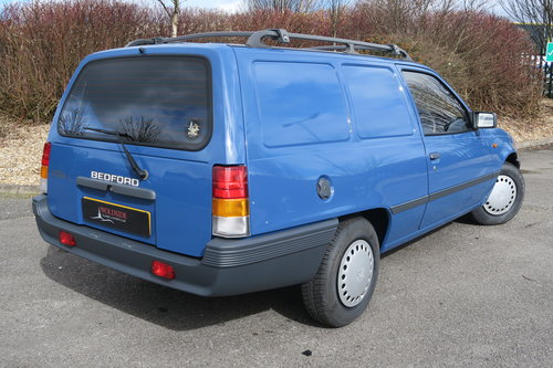 1988 Bedford Astravan 1.3L with only 79 miles For Sale (picture 2 of 6)