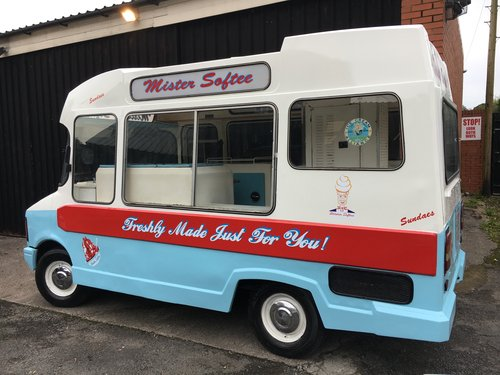 1978 CLASSIC BEDFORD CF ICE CREAM VAN - VARIOUS OPTIONS For Sale (picture 1 of 5)