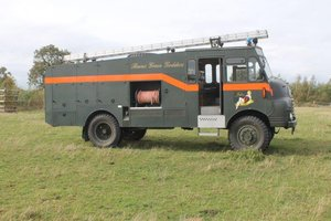 1955 Bedford RLHZ Green Goddess Fire Engine For Sale