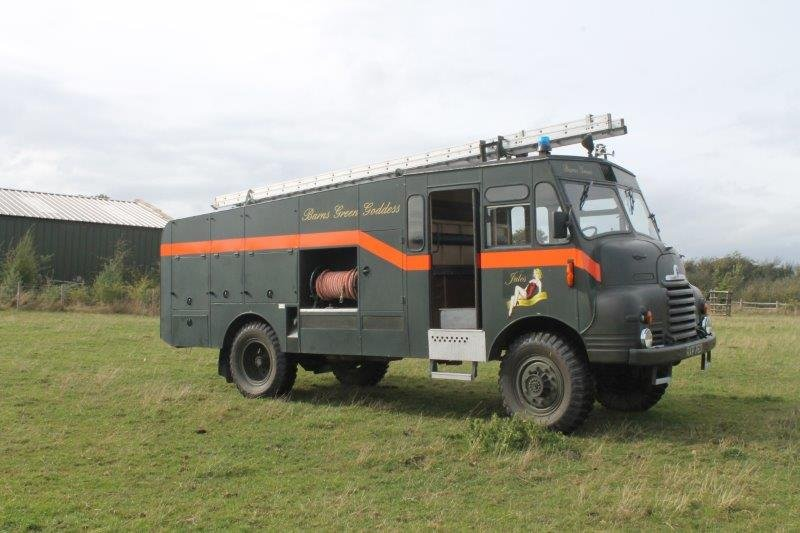 1955 Bedford RLHZ Green Goddess Fire Engine For Sale (picture 2 of 6)