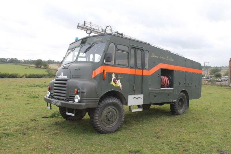 1955 Bedford RLHZ Green Goddess Fire Engine For Sale (picture 3 of 6)