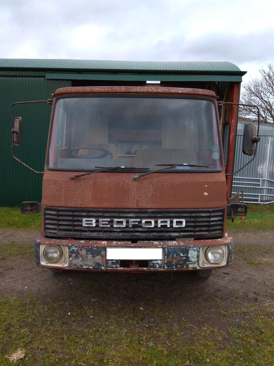 1983 Bedford TL750 with drop side body For Sale (picture 1 of 6)
