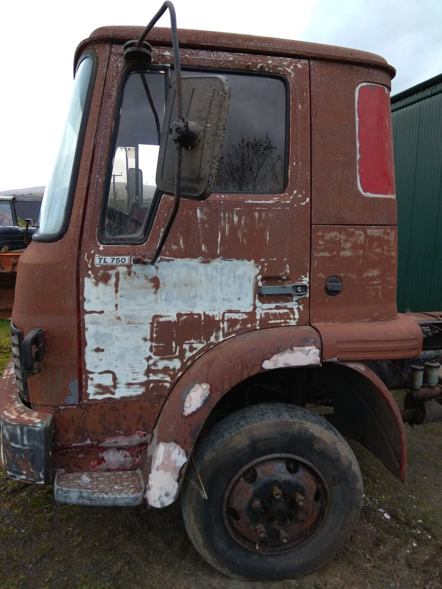 1983 Bedford TL750 with drop side body For Sale (picture 4 of 6)
