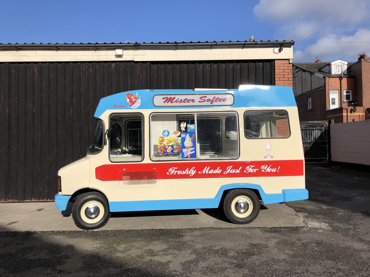 1978 CLASSIC BEDFORD CF ICE CREAM VAN - VARIOUS OPTIONS For Sale (picture 4 of 5)